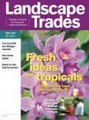 Landscape Trades journal cover